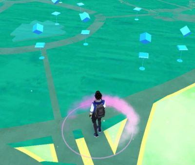 PokeStop locations in Pokemon Go